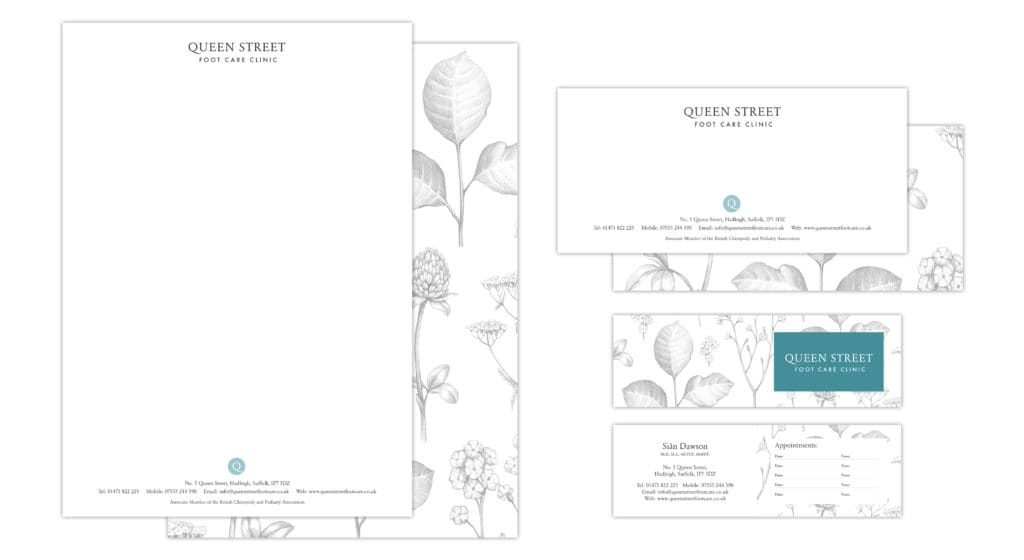 Queen Street Foot Clinic Stationary