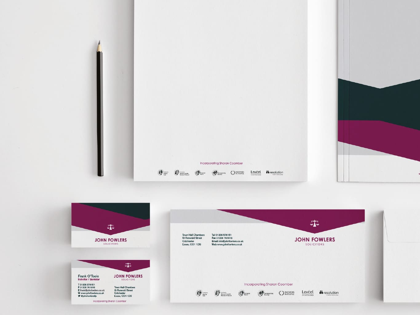 John Fowlers Solicitors Stationary