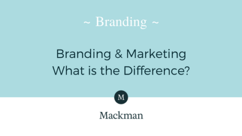 Mackman Blog - The difference between Branding and Marketing